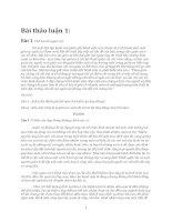 Bài thảo luận tình huống quản trị học