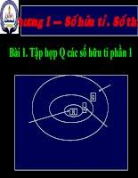 Chương I. §1. Tập hợp Q các số hữu tỉ