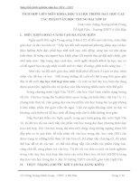 TÍCH hợp LIÊN môn KHOA học xã hội TRONG dạy học các tác PHẨM văn học TRUNG đại lớp 10
