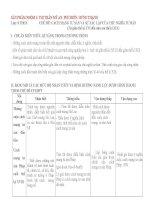 BẢNG MÔ TẢ CÁC MỨC ĐỘ NHẬN THỨC VÀ ĐỊNH HƯỚNG NĂNG LỰC MÔN LỊCH SỬ LỚP 8