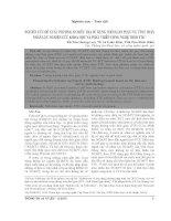 Nghiên cứu đề xuất phương án điều tra sử dụng thời gian phục vụ tính toán nhân lực nghiên cứu khoa học và phát triển công nghệ theo FTE
