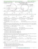 Đề và giải chi tiết đề thi thử môn lí thpt lê lợi   THANH hóa