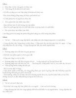 ĐỀ CƯƠNG CÔNG NGHỆ LỚP 7 HỌC KÌ II