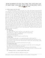 SKKN: KINH NGHIỆM VỀ VIỆC DẠY HỌC TỐT TIẾT BÀI TẬP  VỀ ĐIỆN HỌC CHO HỌC SINH LỚP 9 Ở TRƯỜNG THCS