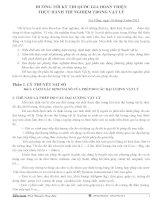 Các câu hỏi thực hành trong đề thi Vật lý
