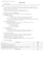 Phương pháp viết bài luận môn Anh thi THPTQG 2016