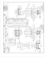 Bản vẽ biện pháp thi công mố  trụ cầu (File cad)