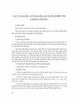 Giáo trình Y học cổ truyền- Phần 2
