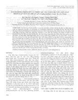 Tách dòng phân tử và thiết kế vector chuyển gen DAT phân lập từ cây dừa cạn (catharanthus roseus (l ) g  don)