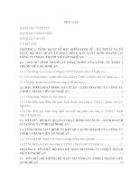 TỔ CHỨC bộ MÁY kế TOÁN TẠI CÔNG TY TNHH 1 THÀNH VIÊN 1 5 NGHỆ AN