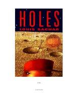 top truyện tiếng anh nên đọc Holes