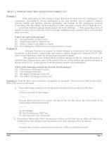 CÁCH LÀM BÀI ĐỌC HIỂU TIẾNG ANH (SKILL 12)