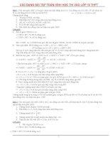 Các dạng toán Hình Học thi vào lớp 10 có lời giải chi tiết