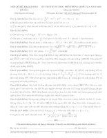 Tổng hợp đề thi thử trung học phổ thông quốc gia môn toán
