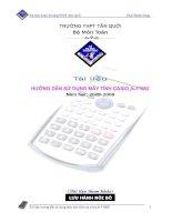hướng dẫn sử dụng Casio fx570ES