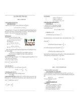 Các công thức tính toán và 1574 bài tập trắc nghiệm sinh học 12 có đáp án