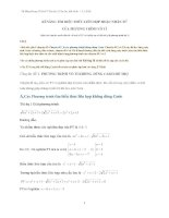 Kĩ năng tìm biểu thức Liên Hợp hoặc Nhân tử khi giải Phương trình vô tỷ
