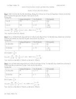 Chuyên đề Giải bài Toán bằng cách lập phương trình ôn thi vào lớp 10