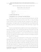 MỘT số BIỆN PHÁP tổ CHỨC TRÒ CHƠI học tập TRONG môn TOÁN TIỂU học