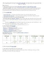 Phương pháp giải bài tập về Sinh học