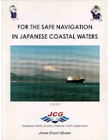 FOR  THE  SAFE  NAVIGATION IN JAPANESE COASTAL WATERS