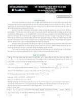 đề thi môn hóa quốc gia IV 2012 (dap an chi tiet)