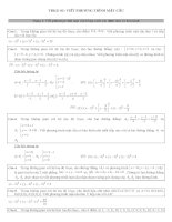 bài tập phương trình mặt cầu