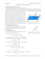 Lý thuyết về giao thoa sóng cơ và bài tập