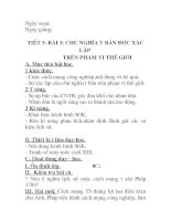 Giáo án lịch sử 8 chuẩn 30 tiết 5,6,7 bài 3,4