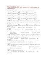 Bài tập trắc nghiệm tự giải hóa học 12 chương 1   este, lipit