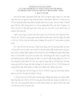 KHẢO SÁT SỰ HÀI LÒNG CỦA NGƯỜI BỆNH VÀ THÂN NHÂN NGƯỜI BỆNH TẠI BỆNH VIỆN TIM HÀ NỘI GIAI ĐOẠN (2007 - 2010)