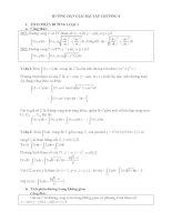 hướng dẫn giải bài tập về tích phân đường tích phân mặt