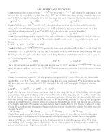 60 Bài tập Điện xoay chiều có lời giải chi tiết