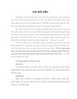 Một Số Giải Pháp Nâng Cao Hiệu Quả Trong Công Tác Thanh Toán Hàng Xuất Nhập Khẩu Bằng Phương Thức Tín Dụng Chứng Từ Tại Ngân Hàng Ngoại Thương Việt Nam