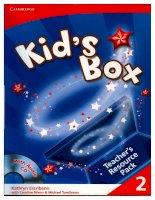 kids box 2  teachers resourses pack