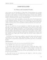 BÀI GIẢNG KHÍ TƯỢNG LÝ THUYẾT CHƯƠNG 11