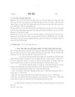 chương 1 mở đầu - sơ lược về các loại máy thủy khí