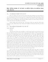 Chương 2 Đặc điểm kinh tế xã hội và điều kiện tự nhiên khu vực dự án