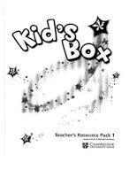 kids box 1  teachers resourses pack