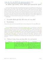 Tuyển tập bài luận Tiếng Anh hay nhất ôn thi THPT Quốc gia 2016 số 9