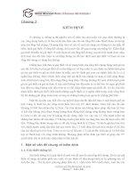 Chương 5 Thống Kê Trong Kinh Doanh  Kiểm Định