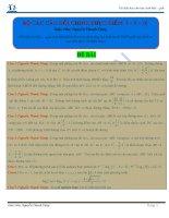 BỘ các câu hỏi CHINH PHỤC điểm 8 – 9 – 10 môn toán có đáp án