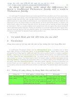 Tuyển tập bài luận Tiếng Anh hay nhất ôn thi THPT Quốc gia 2016 số 7