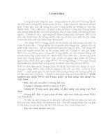 Kinh Nghiệm Gia Nhập Wto Của Trung Quốc & Khả Năng Vận Dụng Vào Việt Nam