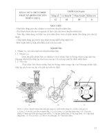 Giáo trình nghề công nghệ ôtô   mô đun 20  bảo dưỡng và sửa chữa hệ thống nhiên liệu động cơ diesel (phần 2)