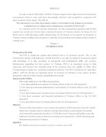 Evironment factors for foreign direct investment for american business corporation in three main commercial centers of vietnam