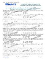 Các dạng bài tập về quy luật phân li của Menđen