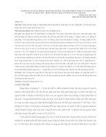 ĐÁNH GIÁ SỬ DỤNG KHÁNG SINH TRONG ĐIỀU TRỊ VIÊM PHỔI Ở TRẺ TỪ 2 THÁNG ĐẾN 5 TUỔI TẠI KHOA NHI - BỆNH VIỆN ĐA KHOA TỈNH ĐẮK LẮK NĂM 2013