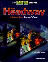 New headway inter students book