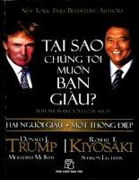 Tai Sao Chung Toi Muon Ban Giau - Robert T Kiyosaki